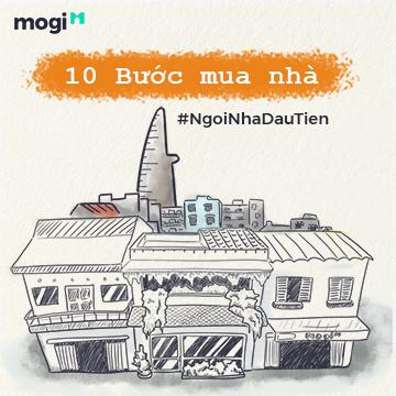 10 bước mua nhà